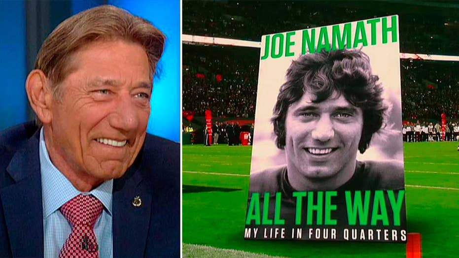 Joe Namath shares lessons in fame, fatherhood and football in new book