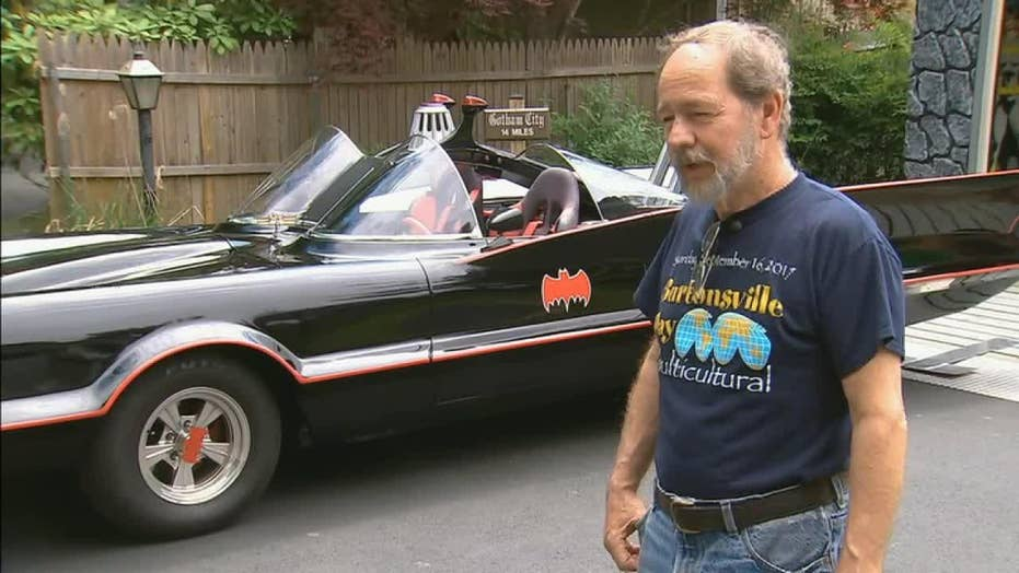 Batmobile owner fights crime, chases down hit-and run driver