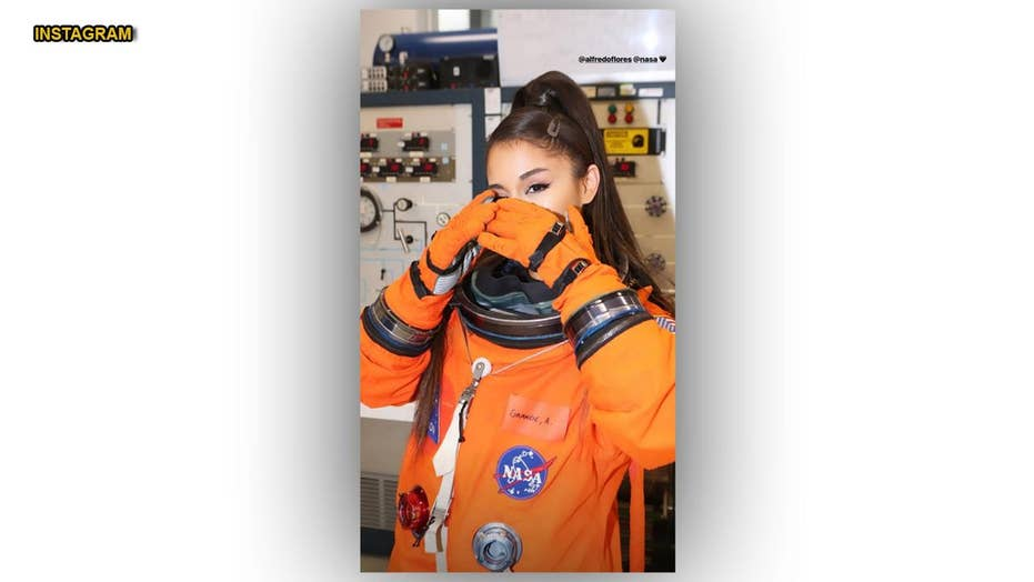 Ariana Grande invited by NASA to mission control because of her love of space