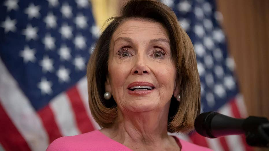 Pelosi denies she's feeling pressure from growing impeachment talk on Capitol Hill