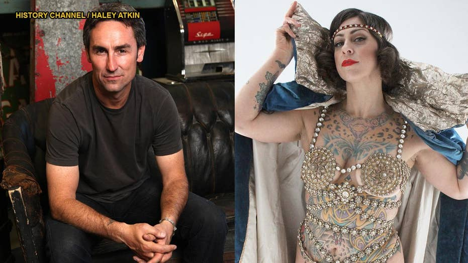 American Pickers Star Mike Wolfe Praises Danielle Colby S