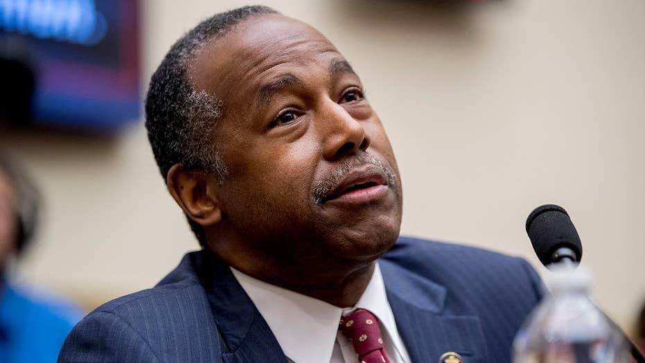 Ben Carson stumped after House Dem quizzes him over housing acronym