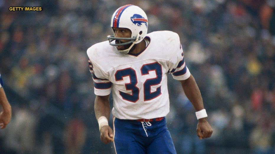 the best attitude cf5f9 288bf Buffalo Bills player will wear O.J. Simpson's No. 32 for ...