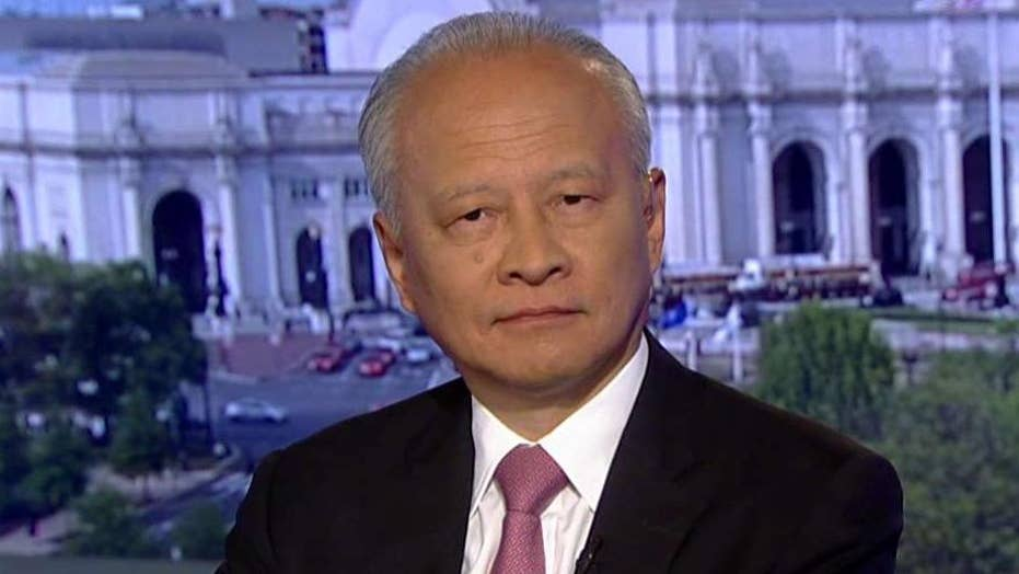 Chinese ambassador to US calls accusations against Huawei 'groundless,' says door is still open on trade talks
