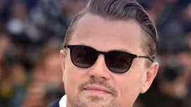 Photo of Leonardo DiCaprio getting hit in the face with volleyball goes viral