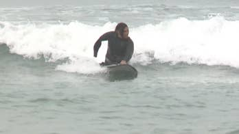 Triple amputee Army vet uses surfing to get through struggles: 'It's changed everything for me'
