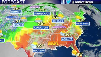 National forecast for Wednesday, May 22