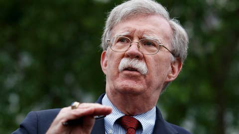 WATCH: Security Adviser Bolton gives keynote at graduation