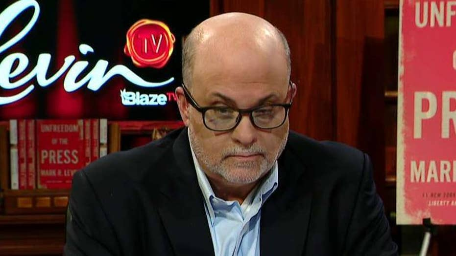 Mark Levin: Media questioned Trump's mental health, why not Pelosi's?