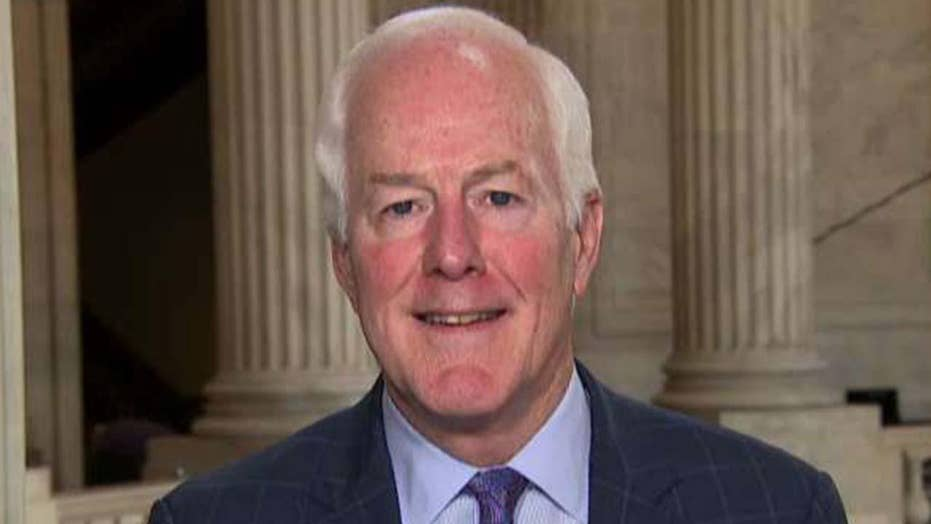 Sen. John Cornyn says President Trump's tax returns are not within legitimate scope of congressional oversight