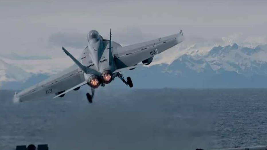 US jets intercept Russian bombers