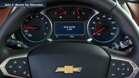 Chevrolet debuts new 'teen driver' mode
