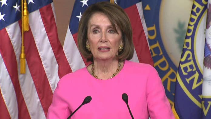 foxnews.com - Brooke Singman - Pelosi urges Trump aides, family to stage an 'intervention' for the 'good of the country