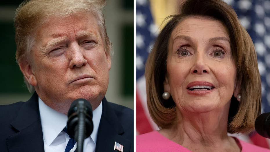 Trump calls out Pelosi for accusing him of a 'cover-up' during infrastructure meeting