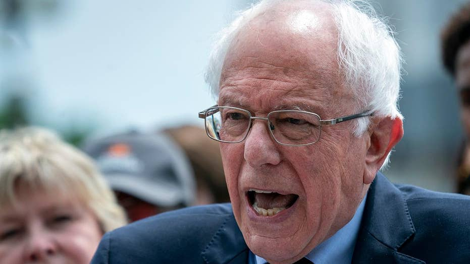 Sanders courts big donors to boost his 2020 campaign despite calling out his opponents for doing the same