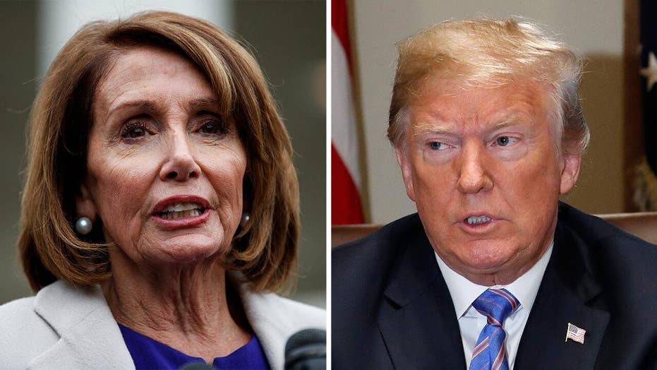 What is the 'cover-up' House Speaker Nancy Pelosi accused Trump of?