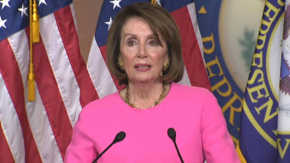 Pelosi wishes Trump's family, administration or staff would stage intervention 'for the good of the country'