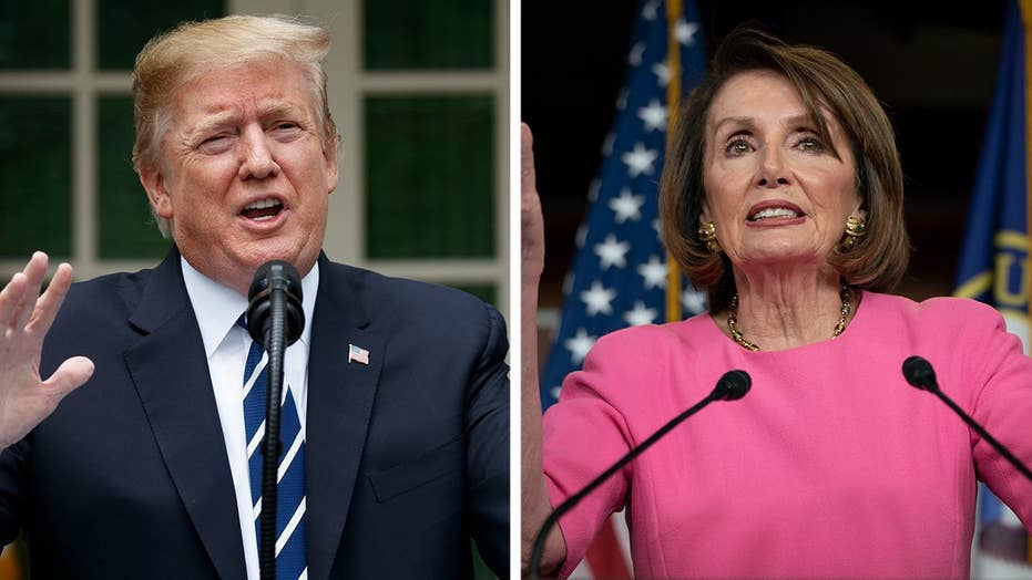 Speaker Pelosi, President Trump trade insults in high-level war of words