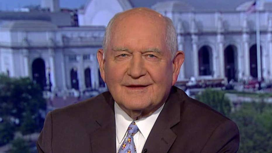 Agriculture Secretary Sonny Perdue on President Trump's aid package for American farmers