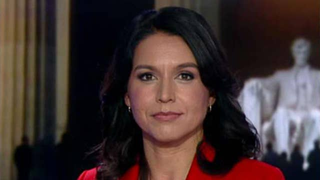 Rep. Gabbard: War with Iran would make Iraq war look like a cakewalk