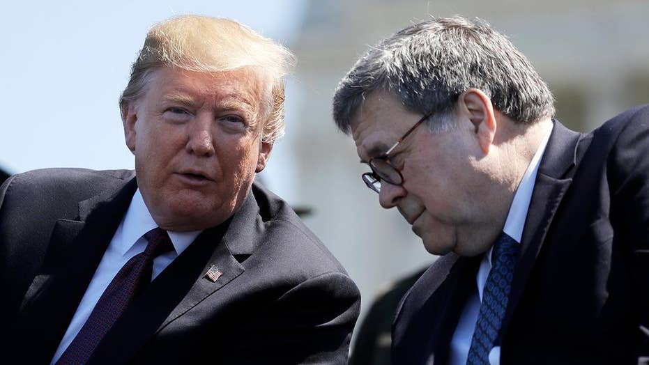 President Trump orders the intelligence community to cooperate with AG Barr's investigation