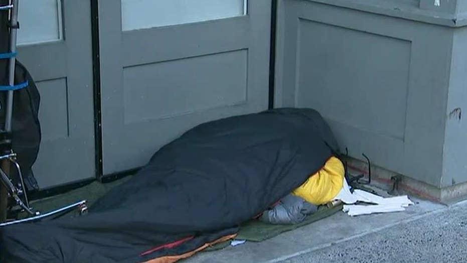 Seattle accused of turning blind eye to sidewalk camping, drug dealing