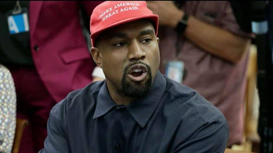 Kanye West says liberals 'bully' Trump supporters
