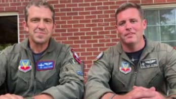 Air Force heritage Flight Foundation helps honor veterans at the Indianapolis 500
