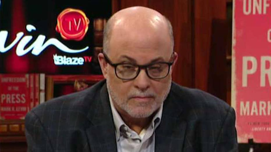Mark Levin on the media's relentless attacks on President Trump
