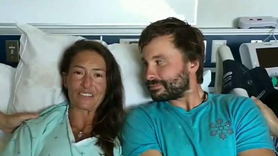 Hiker rescued in Hawaii after missing for 17 days speaks from hospital bed
