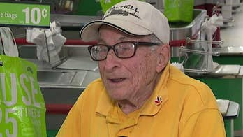Greatest generation: 97-year-old World War II veteran proud to still be working