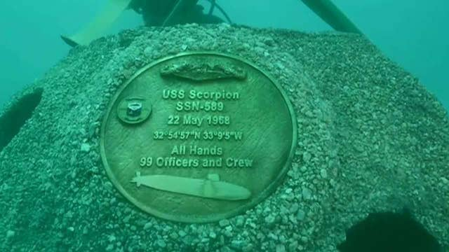 Eternal reef memorials honor Naval submariners lost at sea