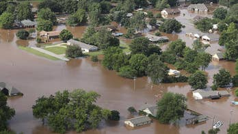Tulsa braces for near-record flooding