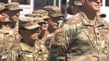 Happy homecoming for 396 members of Arizona's National Guard