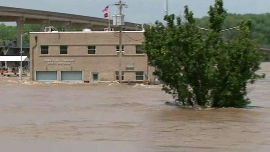 Authorities fear Arkansas River flooding to impact up to 1,000 homes in Fort Smith