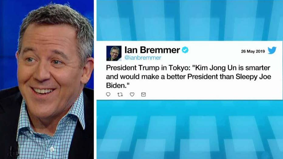 Gutfeld on Ian Bremmer's fake Trump tweet