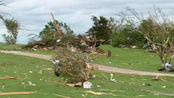Clean up underway in Kansas after severe weather rips across the state