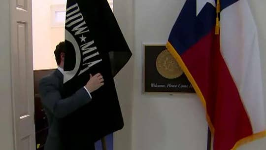Veterans group fights to get POW/MIA flag up at every Capitol Hill office