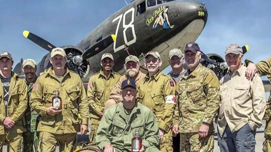 Veterans to mark D-Day anniversary with Normandy jump from WWII plane