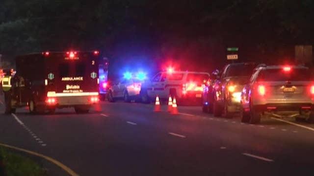Four dead, eight people hurt in Virginia from church van crash