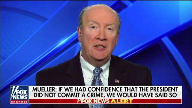 """Andy McCarthy: Mueller's statement on Russia probe was """"explosive."""""""