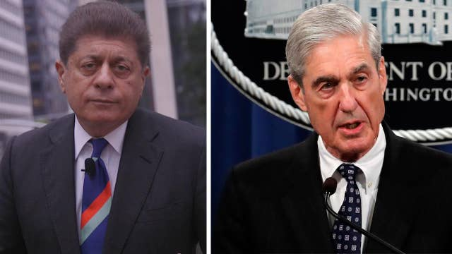 Judge Napolitano: Special Counsel Robert Mueller's statement is fodder for the Democrats