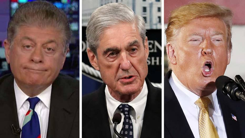 Napolitano: Mueller's remarks on Russia probe are not good news for President Trump