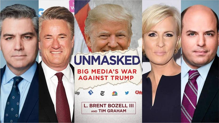 'Unmasked' book ranks media members who hate President Trump the most