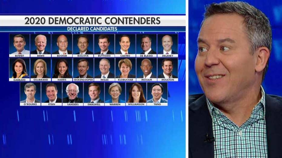 Gutfeld assesses the Democratic field