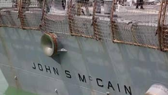 Navy confirms request to 'minimize' USS John McCain during Trump visit to Japan
