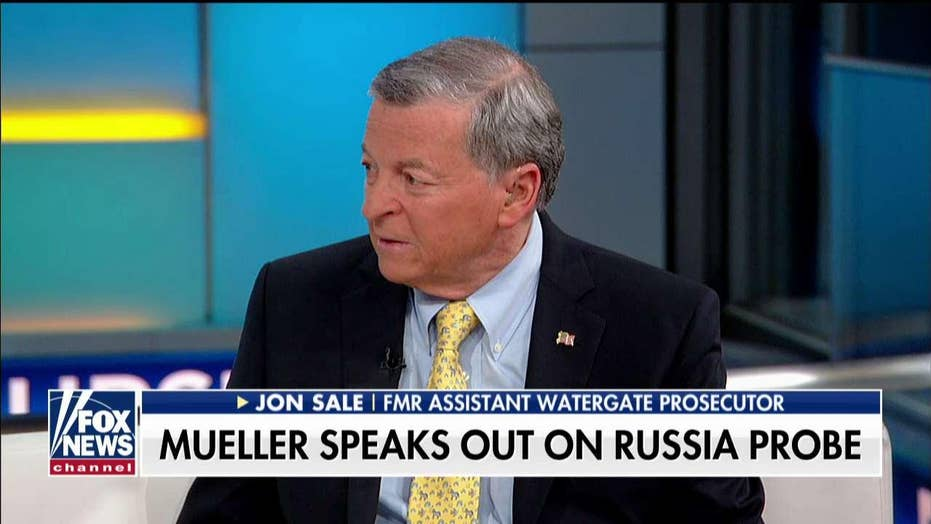 Former Watergate prosecutor on Mueller's first public comments.