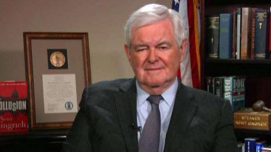 Gingrich: Mueller showed his standard for Trump is dramatically lower than for Russians