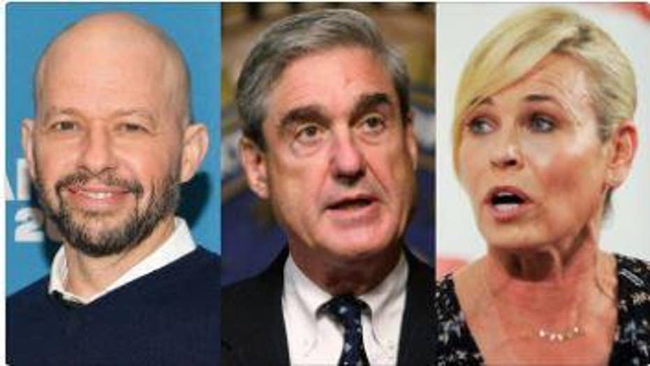 Hollywood celebrities react to Special Counsel Robert Mueller's statement on Russian collusion