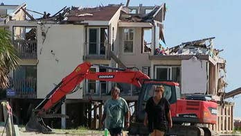 Frustrated Hurricane Matthew victims wait to rebuild months after the storm blasted the Florida Panhandle